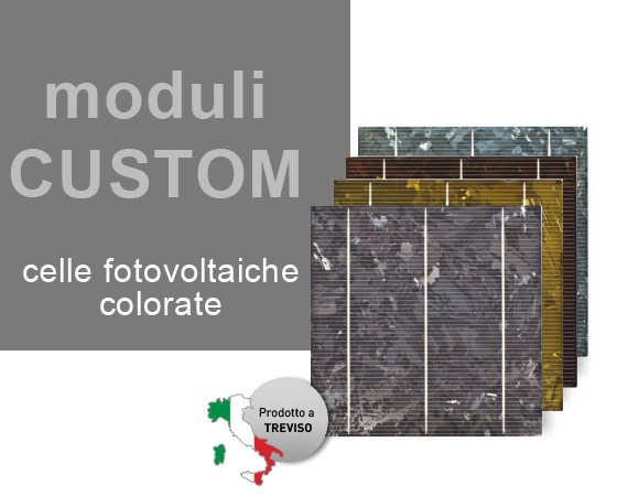 Moduli custom - celle colorate