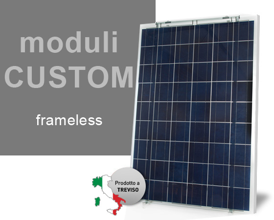 Modulo custom - frameless